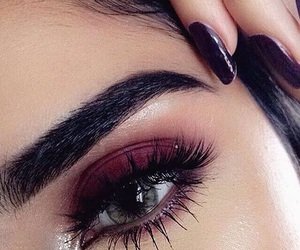 eyes, makeup, and makeup goals image