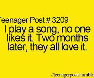 song and teenager post image