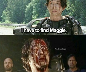 glenn, LUCILLE, and Maggie image
