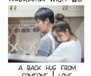 doramas, kdramas, and back hug image
