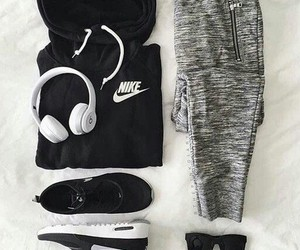 nike, outfit, and sport image