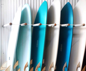 summer, blue, and surf image