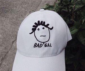 rihanna, bad gal, and hat image