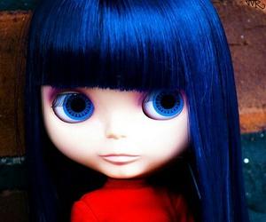 blue, eyes, and blythe image