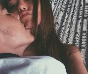 girlfriend, kiss, and cute image