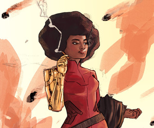 Marvel, fearless defenders, and misty knight image