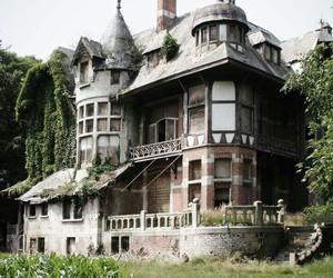 house and abandoned image