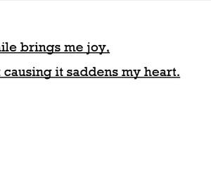 irony, joy, and sadness image