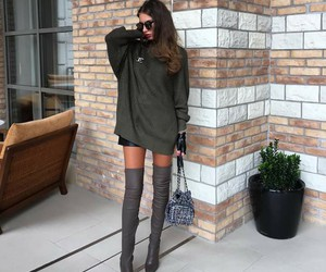 boots, fashion, and look image