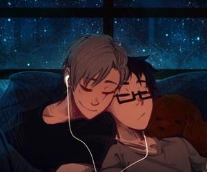 gay, yaoi, and yuri on ice image