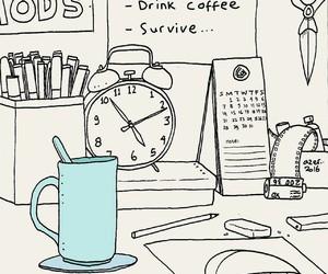 coffee, life, and money image