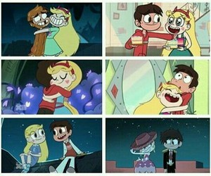 hugs, marco diaz, and starco image