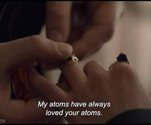 atoms, film, and marriage image
