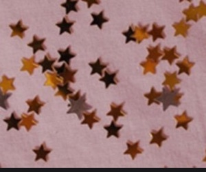 header, stars, and pink image