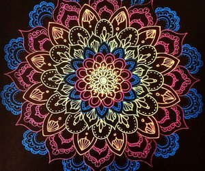 colors and mandala image
