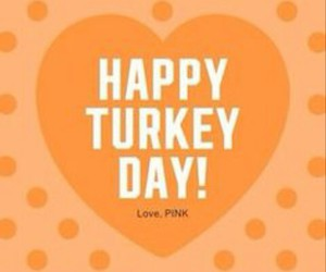 pink and thanksgiving image