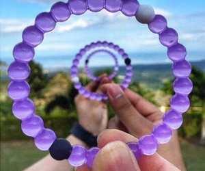 accessories, bracelet, and purple image
