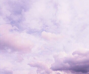 sky, theme, and lavender image