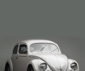 car, volkswagen, and vintage image