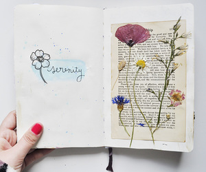 diary, diy, and journal image