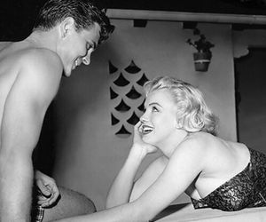 50s, icon, and monroe image