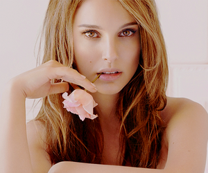 natalie portman, dior, and flowers image