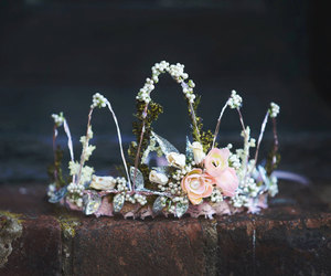 etsy, flower crown, and birthday crown image