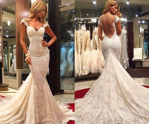 wedding dresses, evening dresses, and prom dresses image