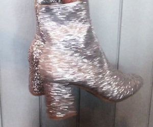 boots, fashion, and glitter image