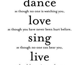love, live, and dance image