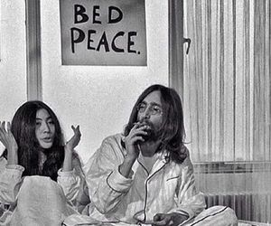 60s, bed, and hippy image
