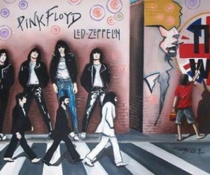 Pink Floyd, led zeppelin, and music image