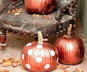copper, decorations, and Halloween image