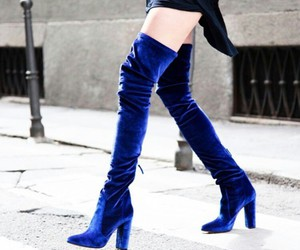 blue, shoes, and bergdorf goodman image