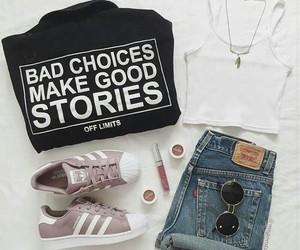 adidas, mode, and superstar image