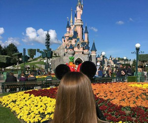 travel, disney, and beauty image