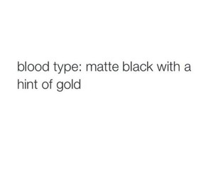 quotes, gold, and black image