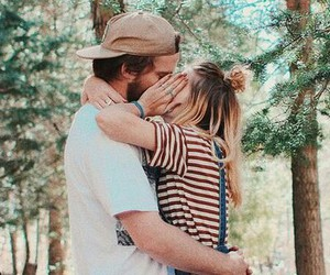 couple, kiss, and sweet image