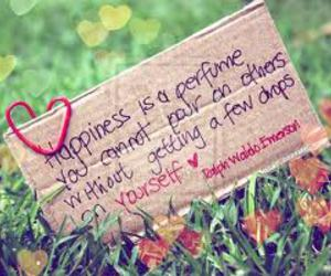 happiness, quotes, and perfume image
