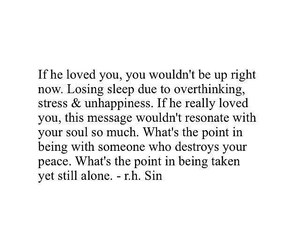 quotes, breakup, and alone image