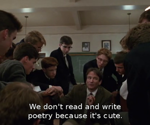 poetry, quotes, and dead poets society image