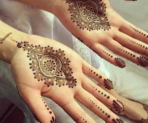 Algeria and henna image