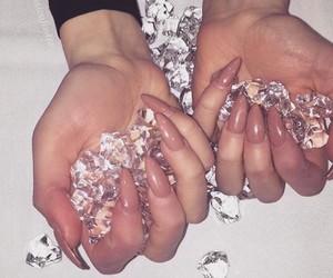 diamonds, fashion, and girl image