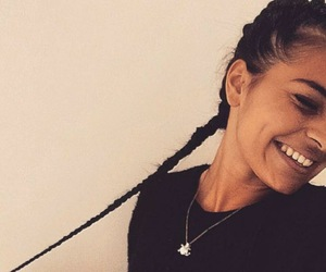 braids, hair, and mixed race image