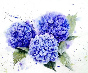 <3, blue, and art image