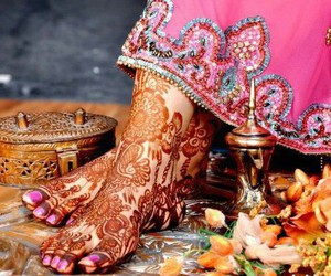 beautiful, bridal, and indian image