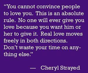 lové, love quotes, and cheryl strayed image