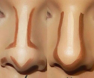 contour and makeup image