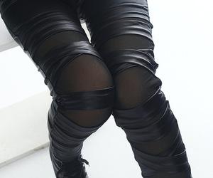 dark, fashion, and legs image