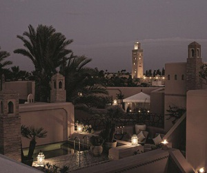 city, morocco, and travel image